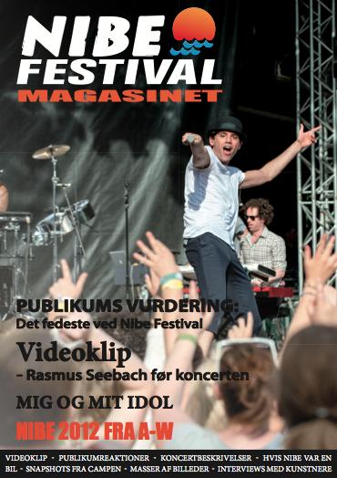 Nibe Festival Magasinet 2012_Forside