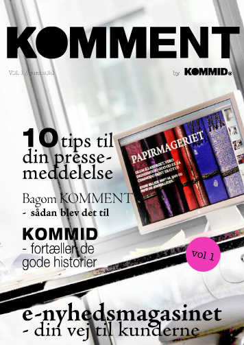 KOMMENT e-magasin, vol. 1