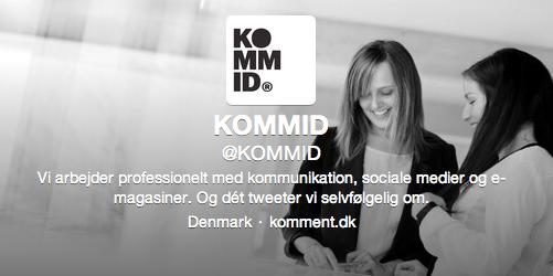 Profilbillede og bio på Twitter